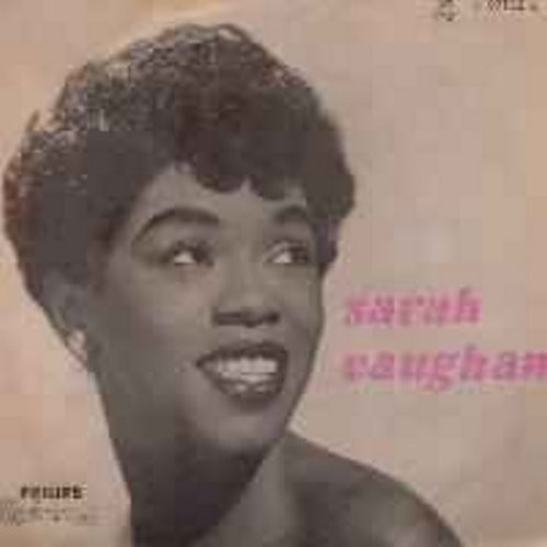 Vaughan, Sarah - Sarah Vaughn: Summertime, As You Desire Me, Nice Work If You Can Get It (Printed in Holland) (beautiful cover photo!) - VG7/EX8 - LP Records