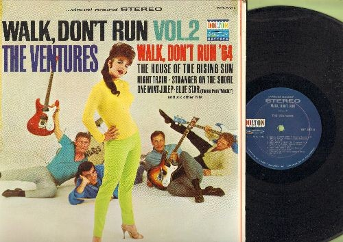 Ventures - Walk, Don't Run Vol. 2: The House Of The Rising Sun, Walk Don't Run '64, One Mint Julep, Diamond Head, The Creeper, Stranger On The Shore (Vinyl STEREO LP record) - EX8/EX8 - LP Records