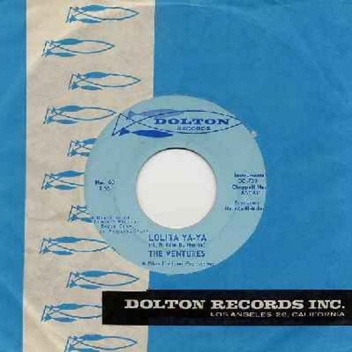 Ventures - Lolita Ya-Ya/Lucille (with RARE vintage Dolron company sleeve) - EX8/ - 45 rpm Records