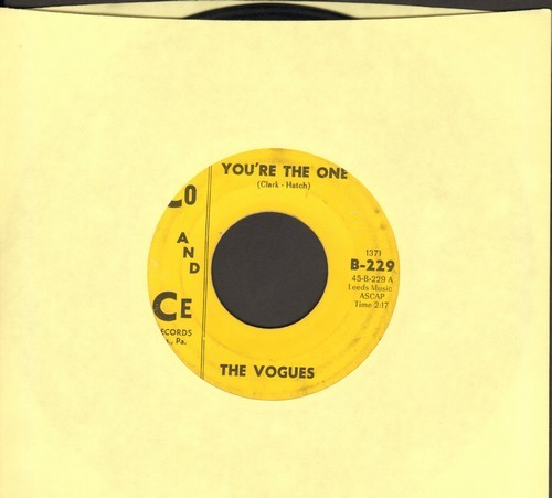Vogues - You're The One/Some Words  - VG6/ - 45 rpm Records