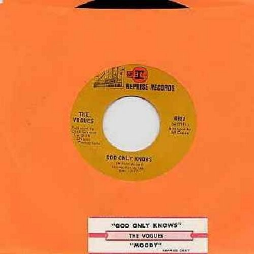 Vogues - God Only Knows/Moody (with juke box label) - NM9/ - 45 rpm Records