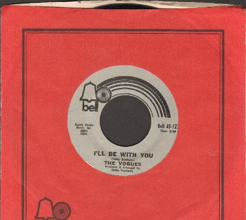 Vogues - I'll Be With You/Take Time To Tell Her (with Bell company sleeve) - NM9/ - 45 rpm Records