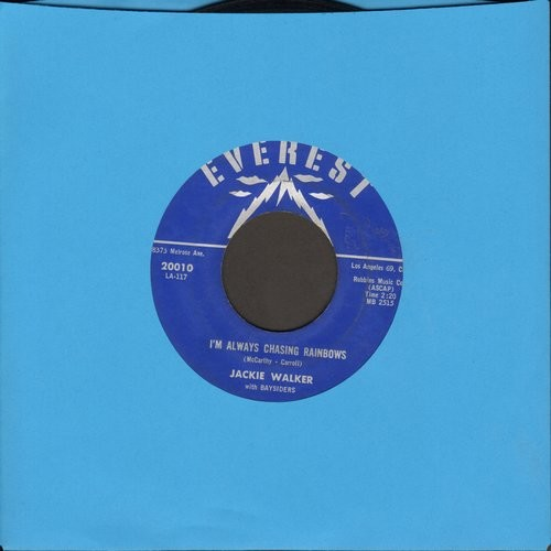 Walker, Jackie - I'm Always Chasing Rainbows/Dearly Beloved - EX8/ - 45 rpm Records