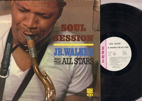Walker, Jr. & The All Stars - Soul Session: Good Rockin', Hewbie Steps Out, Brainwasher, Shake Everything, Eight Hour Drag (Vinyl MONO LP record) - EX8/EX8 - LP Records