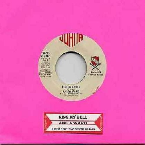 Ward, Anita - Ring My Bell/If I Could Feel That Old Feeling Again (DISCO FAVORITE!) (with juke box label) - NM9/ - 45 rpm Records
