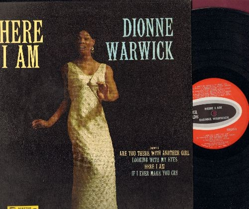 Warwick, Dionne - Here I Am: Once In A Life Time, This Little Light, Looking With My Eyes, Don't Go Breaking My Heart, Are You There With Another Girl (Vinyl MONO LP record) - EX8/NM9 - LP Records