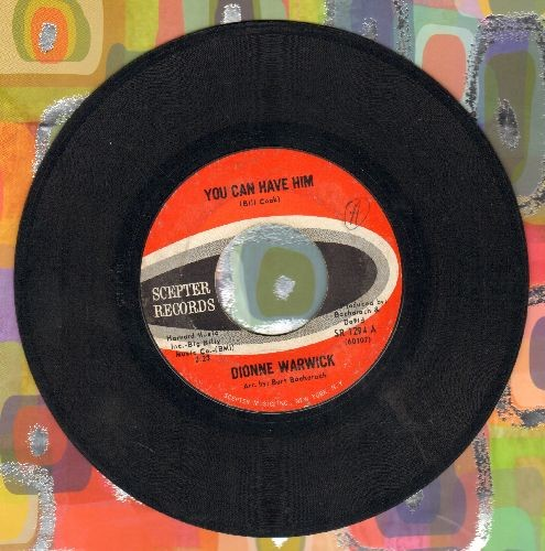 Warwick, Dionne - You Can Have Him/Is There Another Way To Love Him - EX8/ - 45 rpm Records