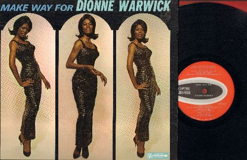 Warwick, Dionne - Make Way For Dionne Warwick: People, Walk On By, You'll Never Get To Heaven, They Long To Be Close To You (Vinyl MONO LP record) - EX8/VG7 - LP Records