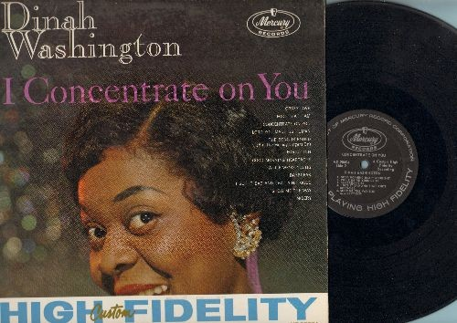 Washington, Dinah - I Concentrate On You: Crazy Love, I Got It Bad And That Ain't Good, Misery, Daybreak, Lord You Made Us Human (Vinyl MONO LP record) - EX8/EX8 - LP Records