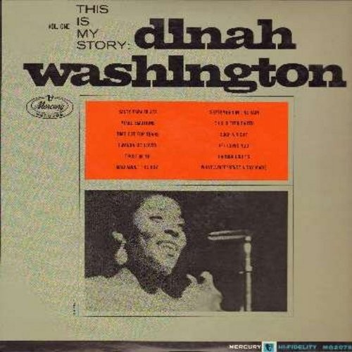 Washington, Dinah - This Is My Story: September In The Rain, What A Diff'rence A Day Makes, Mad About The Boy, Trus In Me, If I Loved You (Vinyl MONO LP record) - NM9/EX8 - LP Records