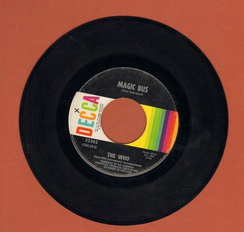 Who - Magic Bus/Someone's Coming  - VG7/ - 45 rpm Records