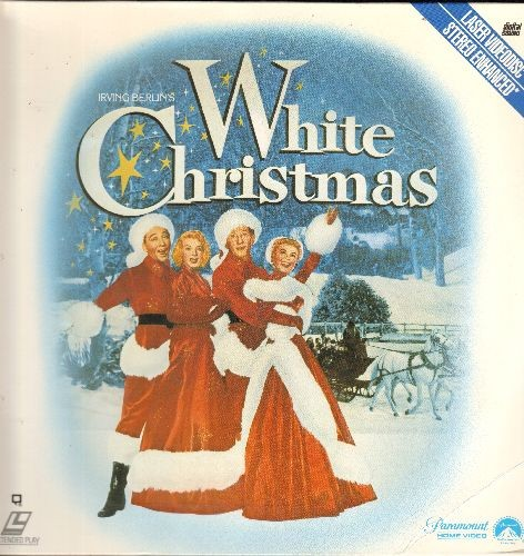 White Christmas - White Christmas - The 1954 All-Star Holiday Classic on 2 LASER DISCS (These are LASER DISCS, not any other kind of media!) - NM9/NM9 - LaserDiscs