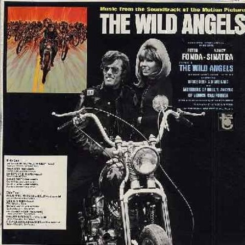 Wild Angels - The Wild Angels - Original Motion Picture Sound Track, featuring songs by The Visitors, The Hands On Time as well as Instrumentals by Davie Allan & The Arrows (Vinyl MONO LP record) - EX8/VG6 - LP Records