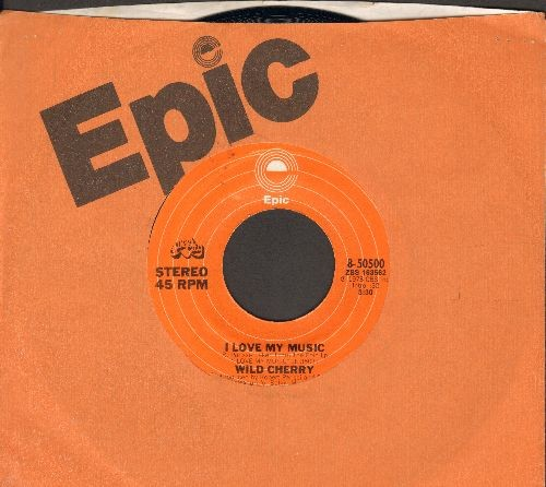 Wild Cherry - I Love My Music/Don't Stop, Get Off (with Epic company sleeve) - EX8/ - 45 rpm Records
