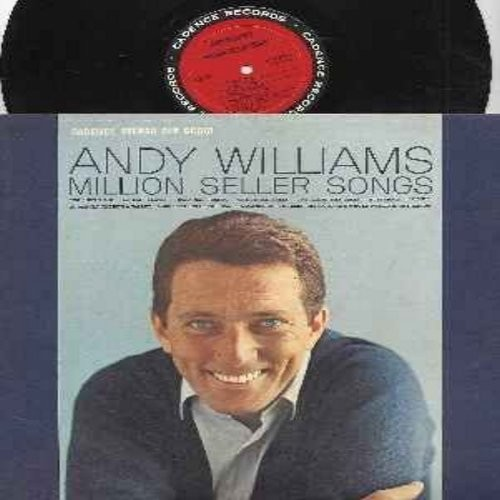 Williams, Andy - Million Seller Songs: It's All In The Game, Butterfly, So Rare, Twilight Time, Canadian Sunset, The Three Bells (Vinyl STEREO LP record) - NM9/EX8 - LP Records
