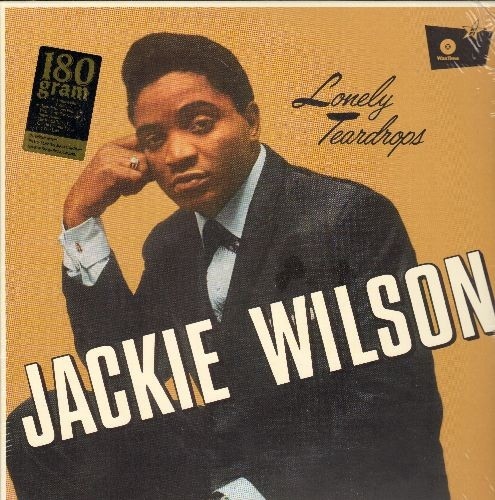 Wilson, Jackie - Lonely Teardrops: That's Why (I Love You So), We Have Love, Hush-A-Bye, I'm Comin' On Back To You (EU DIGITAL virgin vinyl re-issue, SEALED, never opened!) - SEALED/SEALED - LP Records