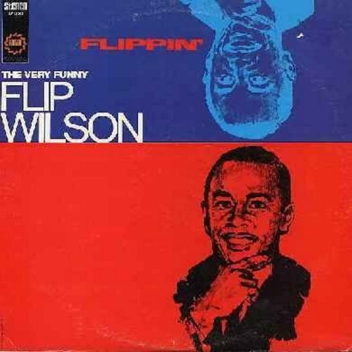 Wilson, Flip - Flippin' - The Very Best Comedy in the Best of Taste (Vinyl STEREO LP record) - EX8/EX8 - LP Records