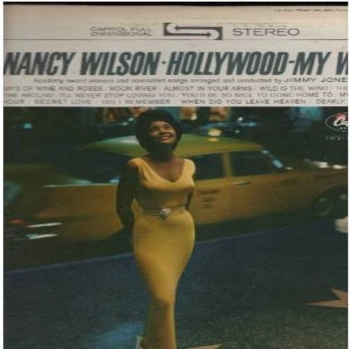 Wilson, Nancy - Hollywood - My Way: Secret Love, I'll Never Stop Loving You, Wild Is The Wind, Moon River, You'd Be So Nice To Come Home To (Vinyl STEREO LP record) - NM9/EX8 - LP Records