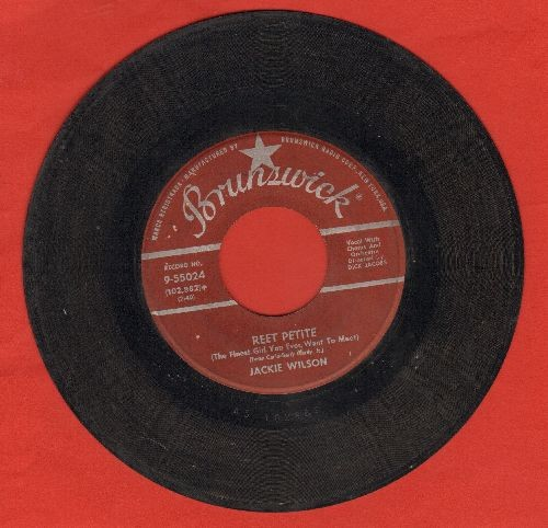 Wilson, Jackie - Reet Petite/By The Light Of The Silvery Moon (maroon label first issue) - G5/ - 45 rpm Records