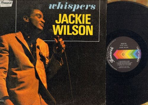Wilson, Jackie - Whispers: Who Am I, (Too Much) Sweet Loving, Just Be Sincere (Whipsers (Getting' Louder), Tears Will Tell It All, The Fairest Of Them All (Vinyl STEREO LP record) - NM9/VG7 - LP Records