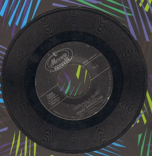 Washington, Dinah - Cold, Cold Heart/I Don't Hurt Anymore - EX8/ - 45 rpm Records
