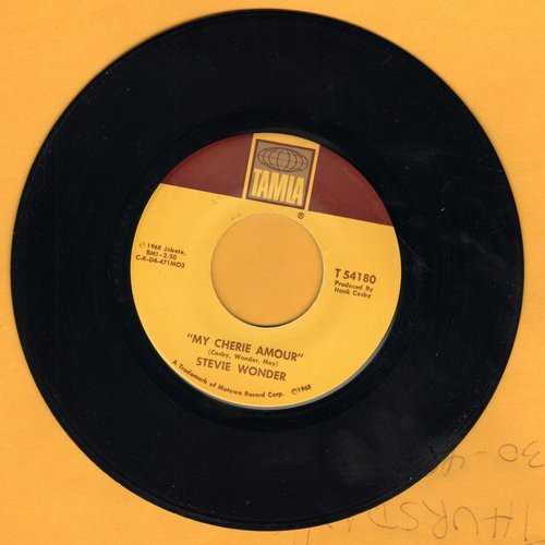 Wonder, Stevie - My Cherie Amour/I Don't Know Why  - VG6/ - 45 rpm Records