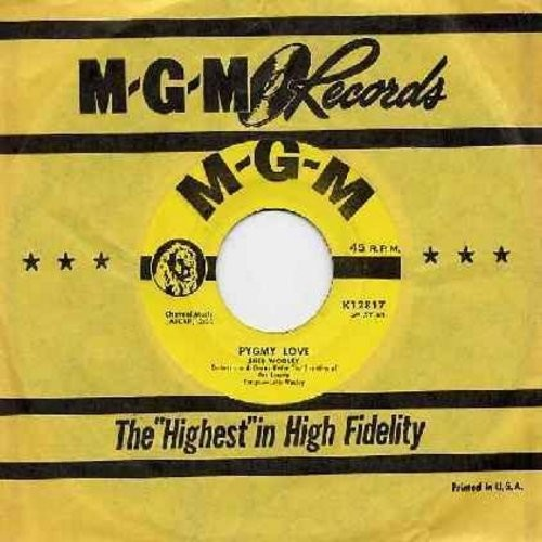 Wooley, Sheb - Pygmy Love/Careless Hands (yellow label first issue with original company sleeve) - NM9/ - 45 rpm Records
