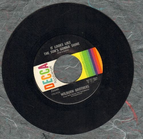 Wilburn Brothers - It Looks Like The Sun's Gonna Shine/Make My Heart Die Away - EX8/ - 45 rpm Records
