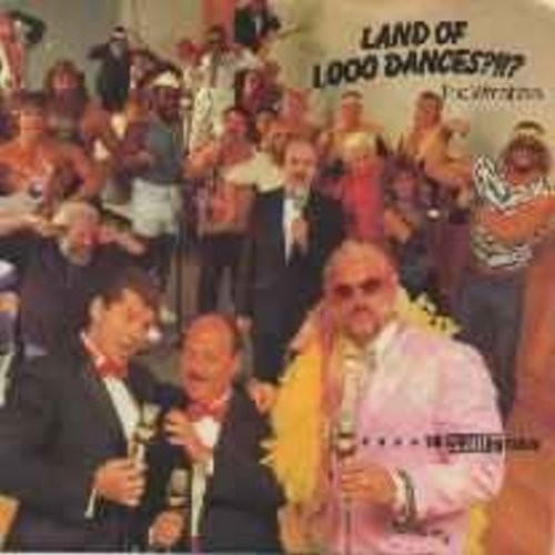 Wrestlers - Land Of 1,000 Dances ?!!? (DJ copy with picture sleeve) - NM9/EX8 - 45 rpm Records