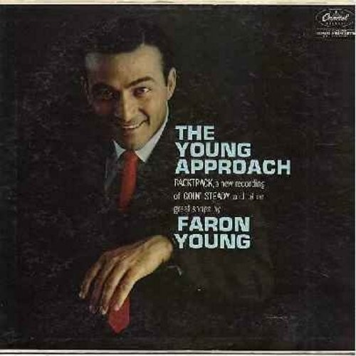 Young, Faron - The Young Approach: I Fall To Pieces, Goin' Steady, The Part Where I Cry, Moments To Remember (Vinyl MONO LP record, rainbow cirlcle label) - EX8/EX8 - LP Records