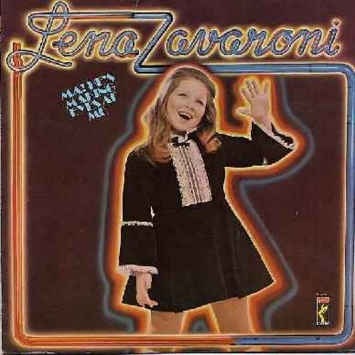 Zavaroni, Lena - Ma! He's Making Eyes At Me: The End Of The World, My Mammy, Pennies From Heaven, My Happiness, Rock-A-Bye Your Baby With A Dixie Melody (Vinyl STEREO LP record) - NM9/EX8 - LP Records